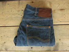 "BNWOTS LEE JEANS ""STORM RIDER DEXTER"" 31x32 SLIM/TAPERED PETROL BLUE 100% COTTON"