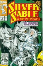 Silver Sable & the Wild Pack # 4 (Infinity War crossover) (USA, 1992)