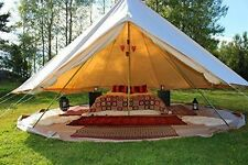 EverTech 3M Outdoor Luxury Canvas Camping Bell Tent Survival Hunting Glamping