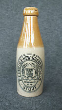 Antique Victorian Beer Bottle The Carlisle New Brewery Co Ltd Stout Very Rare