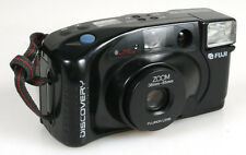 FUJI DISCOVERY 35MM FLASH FILM CAMERA, VINTAGE (FOR PARTS)