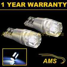 2X W5W T10 501 CANBUS ERROR FREE WHITE LED NUMBER PLATE LIGHT BULBS HID NP101202