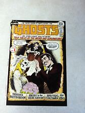 GHOSTS #1 COVER ART original approval cover proof 1971, HORROR, SKELETON!!