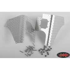RC4WD CCHAND REAR DIAMOND PLATES CORNER SET FOR TAMIYA CC01 WRANGLER (SILVER)