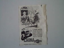 advertising Pubblicità 1949 CHINAMARTINI CHINA MARTINI