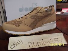 NEW Diadora Heritage Laser Tan Barneys exclusive sz US 10 EU 44 made in Japan