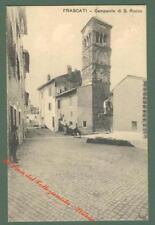 Lazio. ROMA. Campanile di S. Rocco. Cartolina d'epoca viaggiata nel 1912.