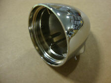 BIG DOG CHROME REAR THREADED TURN SIGNAL HOUSING BUILT IN STANCHION ALL MODELS