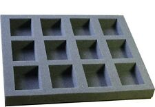 35 mm Cavalry and Crisis Foam Figure Tray. Great for larger Models inc Bikes