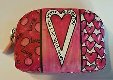BRIGHTON POWER OF PINK LOVE WITH ALL YOUR HEART COIN PURSE