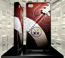 Coque rigide pour iPhone 4 4S Pittsburgh Steelers NFL Team 03