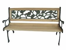 Outdoor Home Wooden 2 Seat Seater Garden Bench Furniture Patio