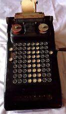 Vintage VICTOR ADDING MACHINE Antique Calculator Hand Crank STEAMPUNK BEAUTY