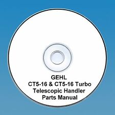 GEHL CT5-16 & CT5-16 TURBO TELESCOPIC HANDLER PARTS MANUAL