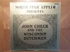 NORTH STAR APPLI LP RECORD/JOHN CHECK/ PRESENTS/  VG+ VINYL WISCONSIN POLKA
