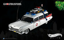 1:18  HOT WHEELS Elite  Filmmodell GHOSTBUSTERS   ECTO-1  Cadillac RARITÄT!