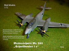 Me 262 Schnellbomber I a      1/72 Bird Models Umbausatz / conversion kit