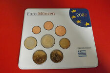 *Griechenland Euro KMS 2002 * 1 Cent - 2 Euro in Blister