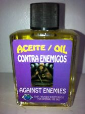 MYSTICAL / SPIRITUAL OIL (ACEITE) FOR SPELLS & ANOINTING 1/2 OZ AGAINST ENEMIES