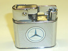 """MYLFLAM """"1000 ZÜNDER"""" SEMI-AUTOMATIC LIGHTER WITH MERCEDES LOGO - 1936 - GERMANY"""