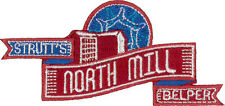 "Belper North Mill Embroidered Patch 9m x 4.5cm (3 1/2"" x 1 3/4"")"