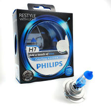 PHILIPS h7 12v COLORVISION COLOR BLUE VISION +60% in più di luce 2st 12972 cvpb