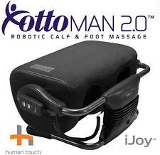 Human Touch iJoy OTTOMAN 2.0 Calf foot leg massage - Black Fabric Feet MASSAGER
