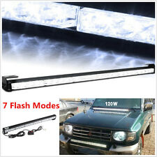 Car 4x4 Offroad Emergency Strobe Bumper/Roof Lights Beacon Flash LED Light Bar