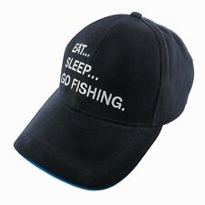 Eat-Sleep-Go Fishing Cap