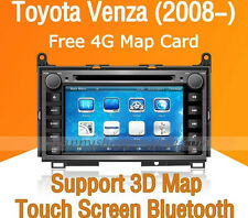 "7"" Car Dash DVD GPS Navigation Radio Stereo Bluetooth for Toyota Venza 2008-2014"