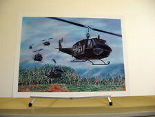 UH-1 Huey Helicopter Iroquois Douglas A-1 Skyraider Spad Aviation Art Set