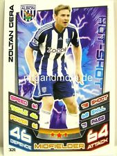 Match Attax 2012/13 Premier League - #321 Zoltan Gera - West Bromwich
