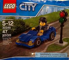 LEGO 30349 - City: Blue Car & Driver - Poly Bag Set