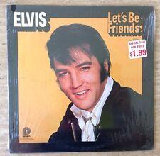 ELVIS PRESELY: Lets Be Friends LP CAMDEN RECORDS CAS2408 US 1970 ALBUM