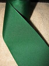 "Berwick/Offray Wide Grosgrain Ribbon  **Forest Green **   3"" Wide, 10+ Yard Roll"