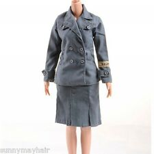 "1/6 Dragon DML WWII Female Soldiers Office Clothing F 12""Action Figure"