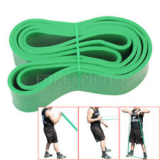 Green Crossfit Resistance Rubber Band Gym Body Training Powerlifting Pull Up