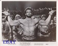 Steeve Reeves barechested and bound VINTAGE Photo Goliath And The Barbarians