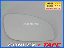 Wing Mirror Glass OPEL SIGNUM VECTRA 2003-2008 CONVEX +TAPE Right Side #F025 #16