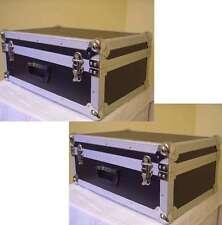2 x Universal Gerätekoffer schwarz Transportkoffer Koffercase Flightcase Koffer