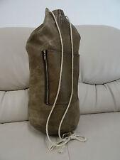 Leder Tasche Weekender Reisetasche Vintage Sporttasche Seesack Rucksack leather