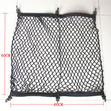 Car Rear Trunk Storage Fixed Luggage Cargo Flexible Nylon Elastic Net 60x60cm