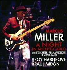 A  Night in Monte Carlo by Marcus Miller (CD, Feb-2011, Concord Jazz)