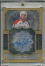 13-14 The Cup Mike Gartner Brilliance Auto Autographed Hockey Card #B-MG Mint