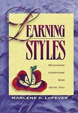 Learning Styles: Reaching Everyone God Gave You to Teach