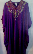 Sante Classics Jeweled Purple Caftan