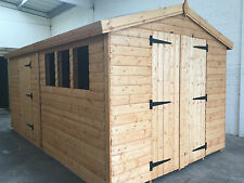 *SPRING SALE* Garden shed 14 x 8 Apex 13mm cladding *FREE INSTALLATION*