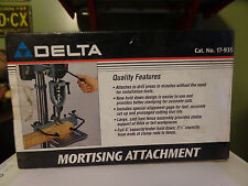Delta Model 17-935 Mortising Attachment New In The Box