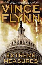 EXTREME MEASURES BY VINCE FLYNN- 2008- HARDBACK- RETAIL