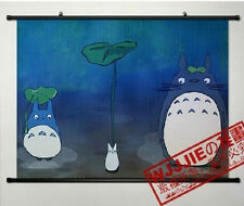 My Neighbor Totoro Cute Home Decor Japanese Poster Wall Scroll Anime W068
